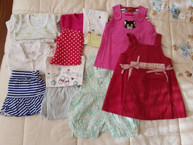 Lotto vestiti estivi bimba 3-6 mesi circa