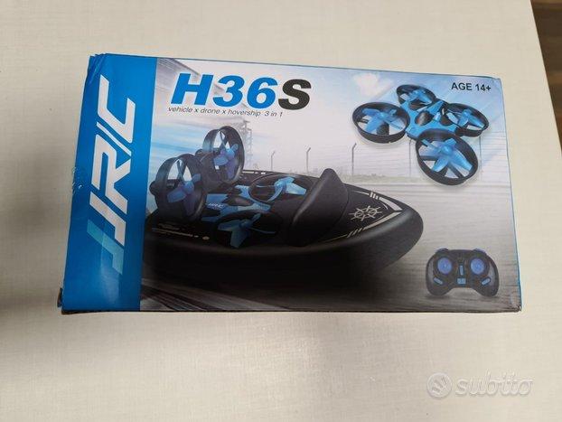 Drone giocattolo terra acqua