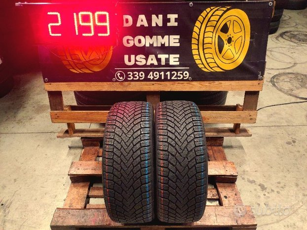 2 Gomme CONTINENTAL 225 45 17 INVERNALI 90%