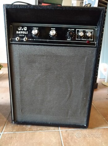 Ampli chitarra Davoli anni 70