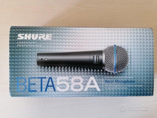 Microfono professionale Shure Beta 58A