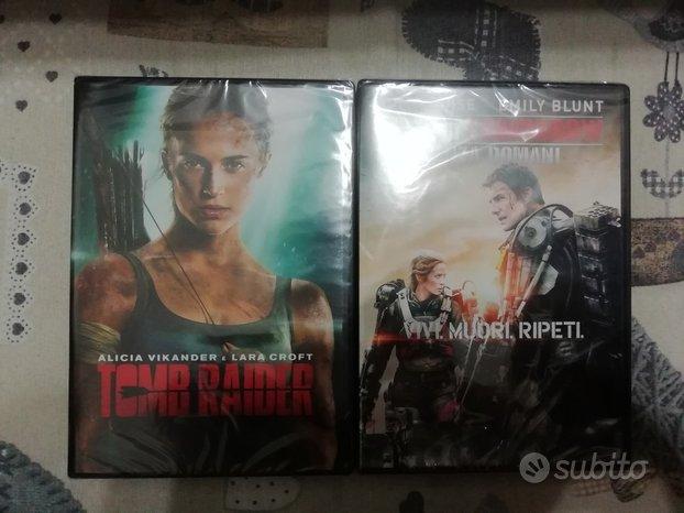 DVD Tomb Raider Edge of Tomorrow