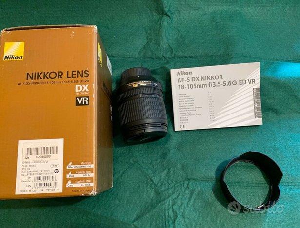 Obiettivo Nikon AF-S DX NIKKOR 18-105mm f/3.5-5.6