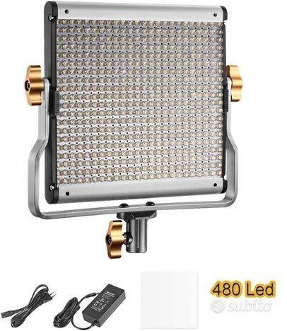 Pannello luce 480 led Bicolore Dimmerabile NUOVO