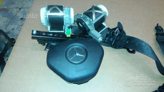Mercedes classe c200 restyling kit airbag 2012