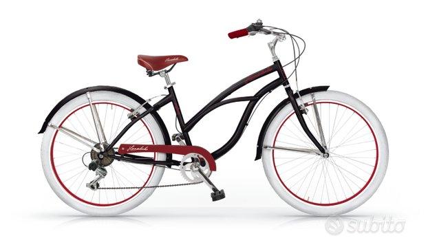 Bici cruiser donna mbm honolulu da 26 6v