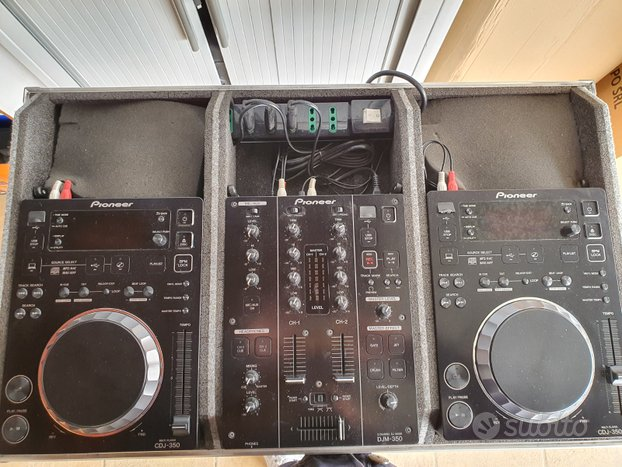 Consolle PIONEER 350 Bundle (2x CDJ350 + DJM350K)