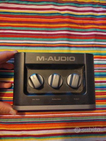 Scheda audio m - audio fast track MK2 usb