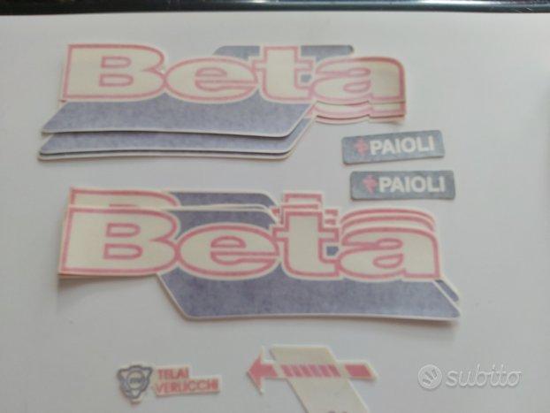 Adesivi completamento telaio Beta tecno 1997