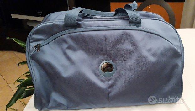 Borsone da viaggio Delsey nuovo colore steel blue