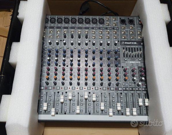 Impianto audio completo per live (in blocco)