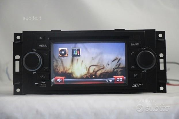 Navigatore crysler dodge dvd wifi tv