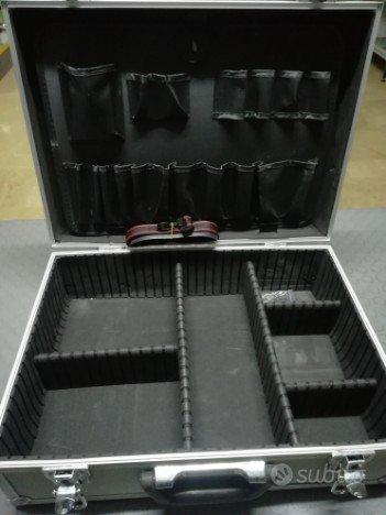 Valigia in alluminio porta utensili cm 45x33x15