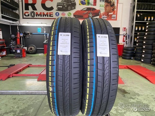 2 Gomme Usate 155 70 14 77T Hankook estive