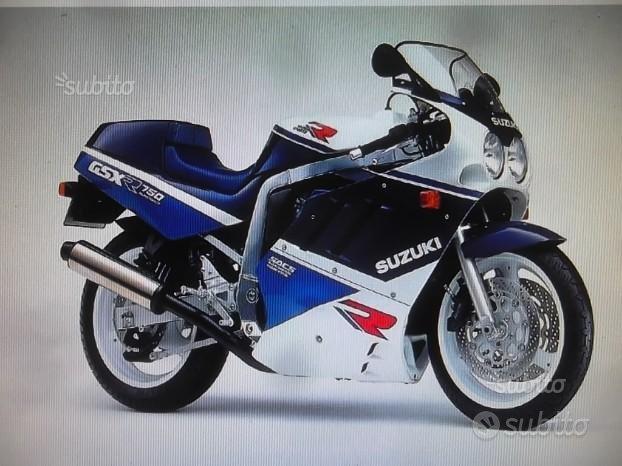 Suzuki gsxr750 89