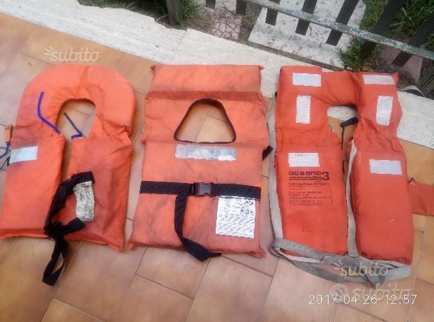 Giubbotti salvataggio Navigazione N.3 a 15.00 cad