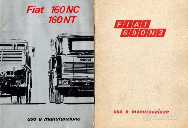 Manuali Uso e Manutenzione Camion d'Epoca