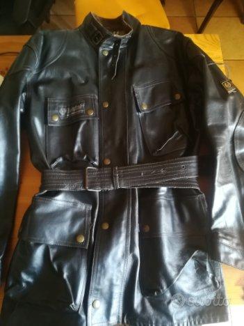 giacca in pelle belstaff