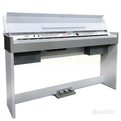Medeli cdp 5200 - pianoforte digitale bianco