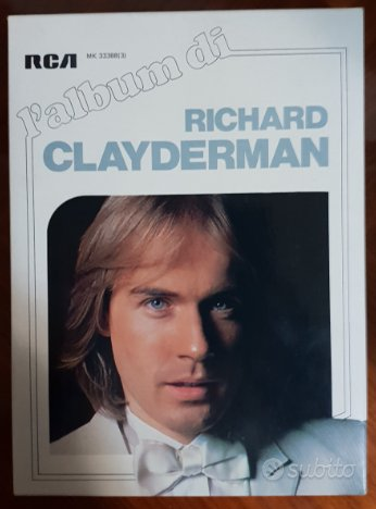 cofanetto raccolta richard clayderman
