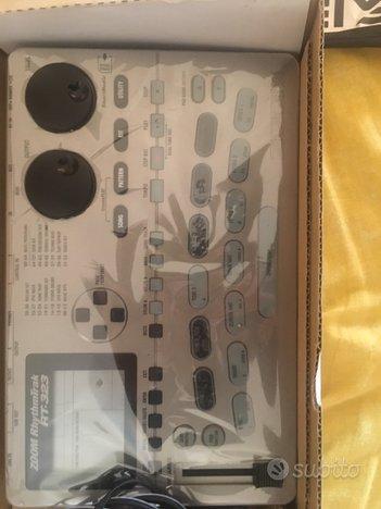 Batteria elettronica Drum machine Zoom rt-323