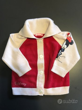 Vestiti neonato LIU JO DISNEY maglia felpa bimba