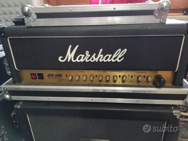 Marshall jcm 2000 + cassa laney
