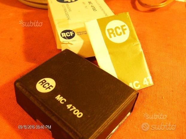 Mc 4700--RCF.MICROFONO-PROFESSIONALE-