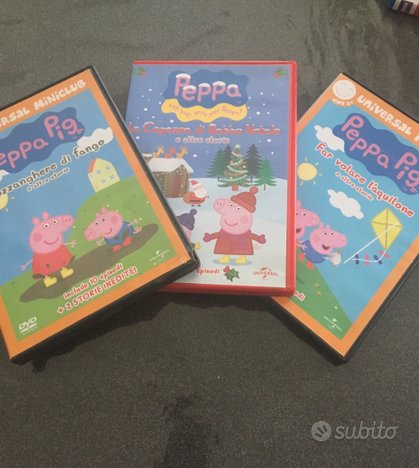 Dvd Peppa Pig originali