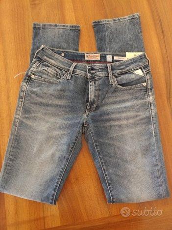 Nuovo jeans replay donna rahiki w26 slim fit