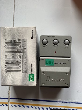 Pedale chitarra Ibanez DS7 distortion