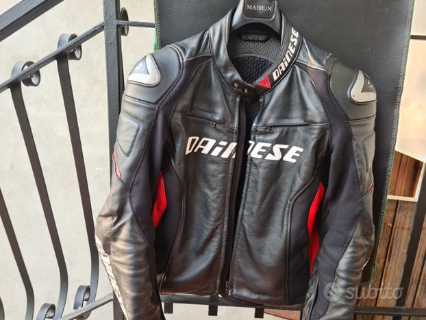 Giacca in pelle ,marca dainese