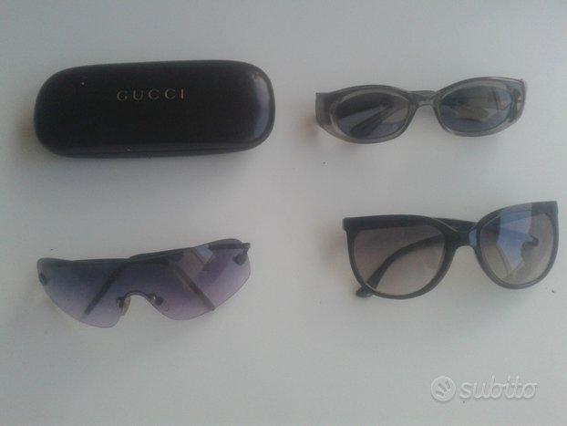 Gucci occhiali e custodia, un Chanel originali