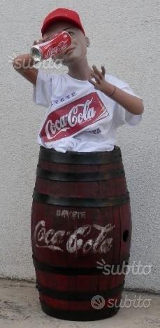 Vecchia mascotte coca cola