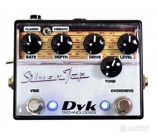 DVK Technologies SilverTop overdrive + vibe truebp