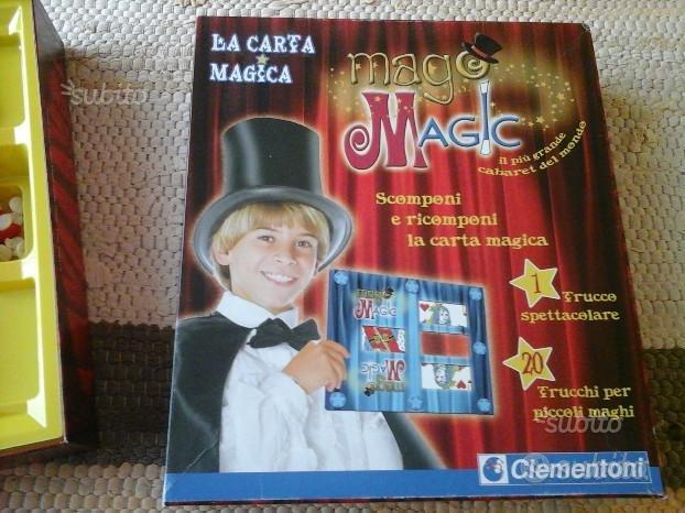 """Gioco in scatola """"MAGO MAGIC"""" Clementoni"""