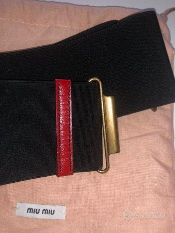 Cintura miu miu originale