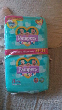Pannolini Pampers baby dry taglia 3