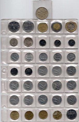 Lotto di 36 Monete Repubblica Italiana