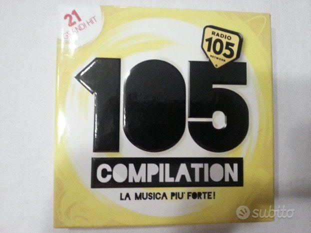 CD 105 Hits Compilation