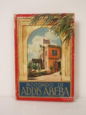 Ricordo di addis abeba-rarissimo photobook d'epoca