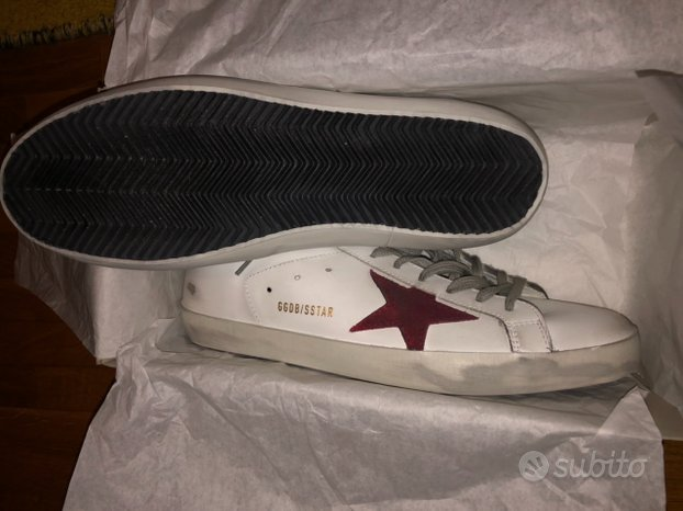 Golden goose superstar n.43 nuove e originali