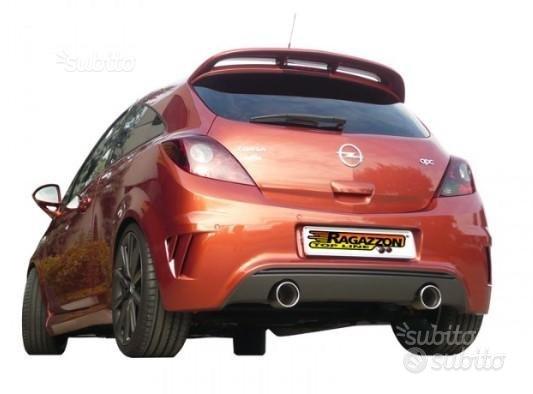 Opel Corsa D Nurburgring 155kW Scarico Inox