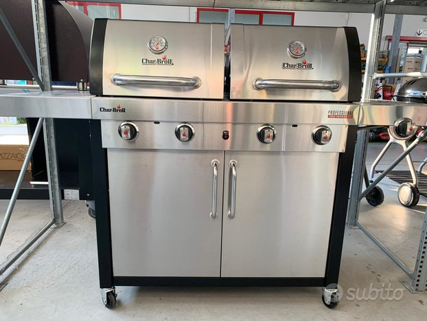 Barbecue a gas char-broil professional 4600s