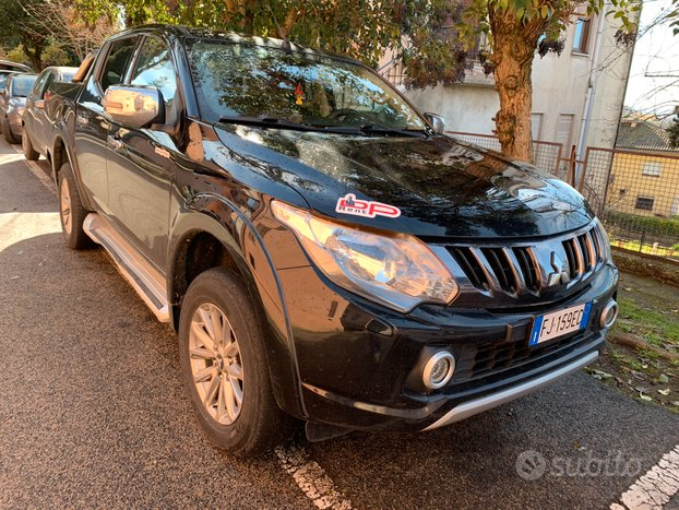 Mitsubishi l200 pick-up gancio traino