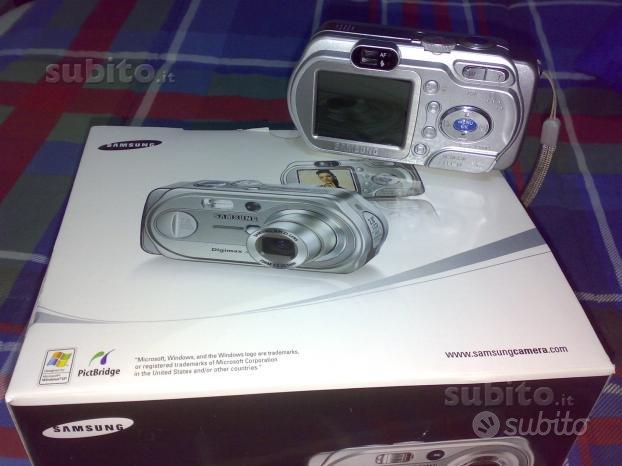 Fotocamera Digitale Samsung Digimax A7