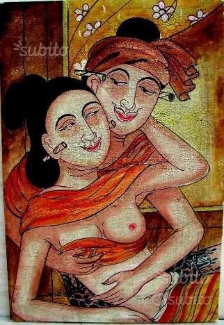 DIPINTO ETNICO Birmano n° 5,