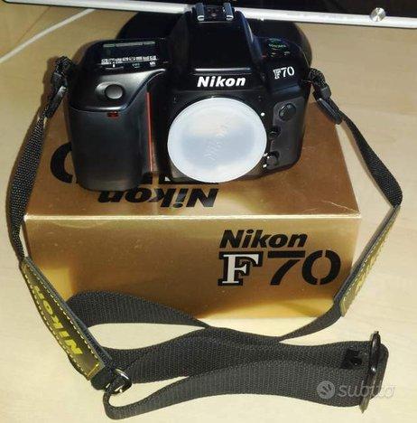 Nikon F70 AF Reflex a pellicola