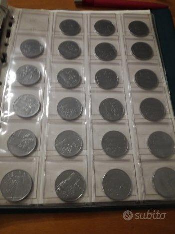Lotto 13 monete rare da lire 100 dal 1955 al 67