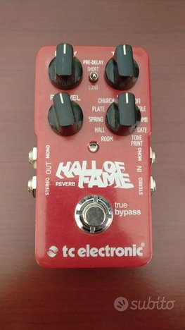 Hall of Fame Reverb - TC electronic